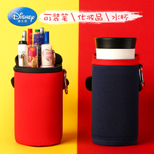 Disney primary school students pencil case children pencil bag large capacity girl Mickey kindergarten stationery box cute cup set