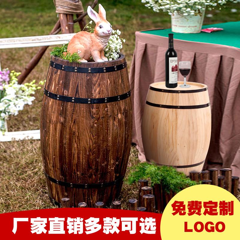 Дуб баррель ликер баррель дерево декоративный пиво вино баррель украшение ликер деревня бар шоу может свадьба качели установить реквизит