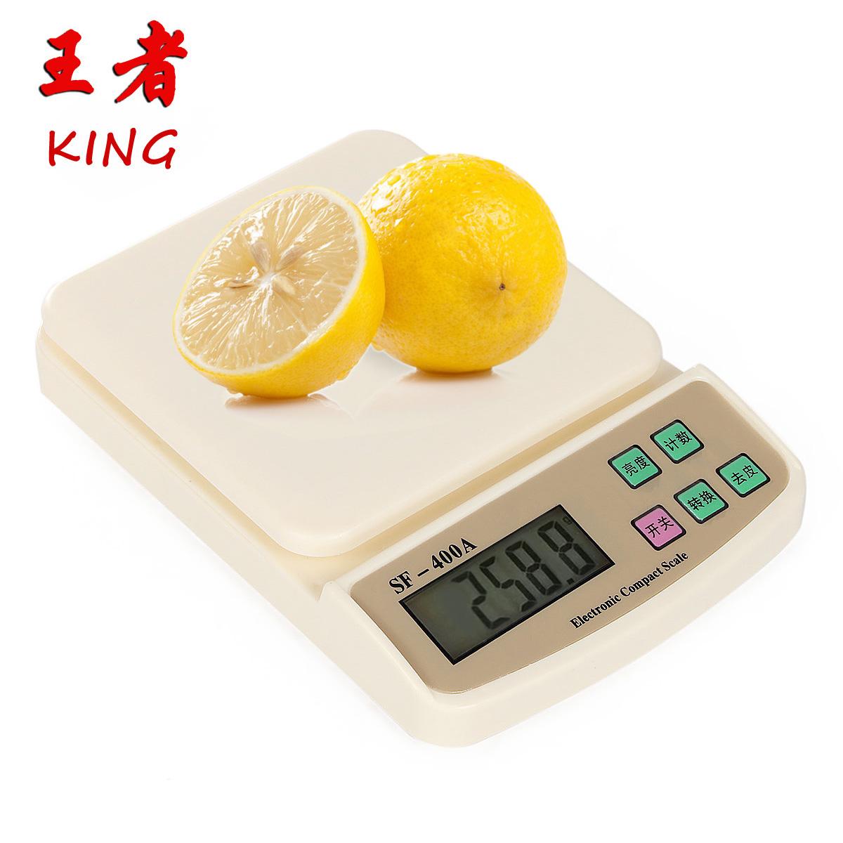 Король кухня масштаба 7 кг / 1g высокой точности 0,1 г электронные весы мини выпечки Весы бытовые грамм масштаба почты