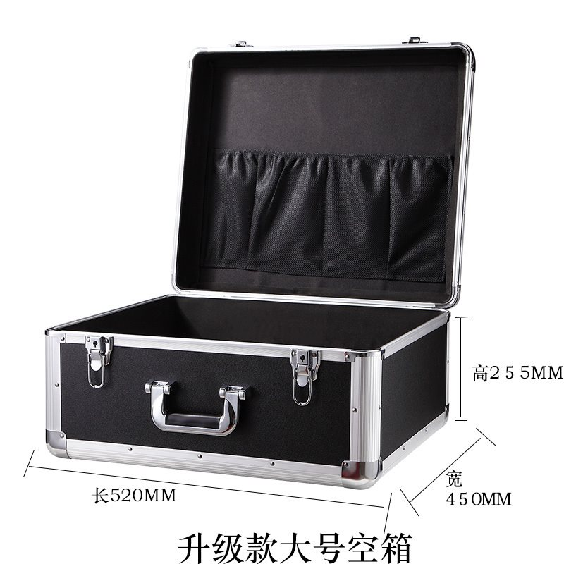 The moisture proof box of the camera is placed in the 3C digital SLR accessory box, the camera lens storage box and the bracket storage box