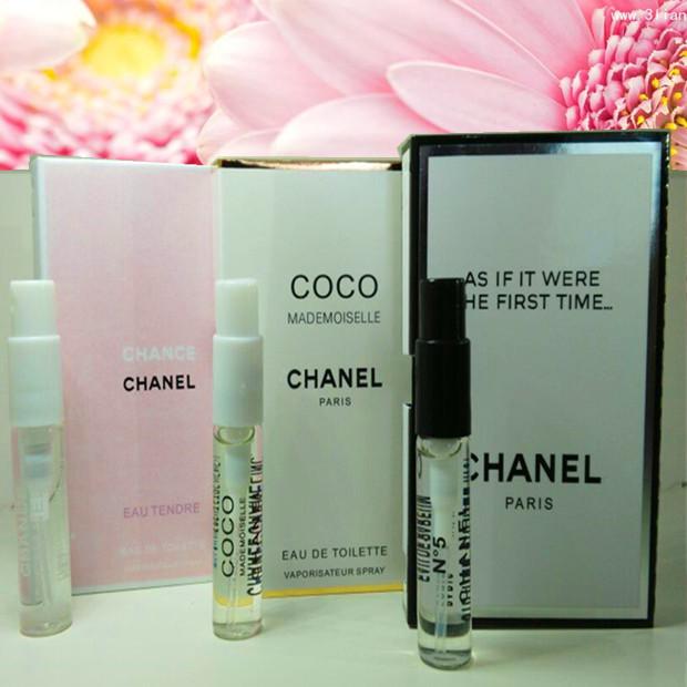 女士香水小样淡香多款试管装香水买一送一学生香水女持久自然淡香
