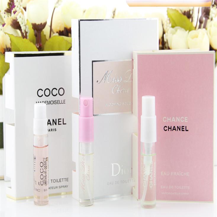 清新款香水小样2ml女士淡香持久试管装香水多款学生白领自然香水