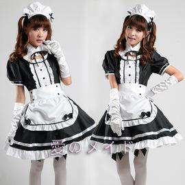 女傭游戲動漫展女仆裝XXL XXXL套裝定做秋葉原演出服裝可愛2020圖片