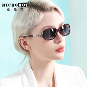 2020新款小框太阳镜女防紫外线中年女士妈妈墨镜眼镜时尚小号小脸