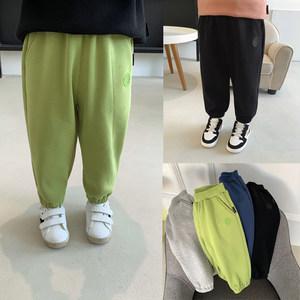 辰辰妈婴童装男童子新款休闲加绒裤