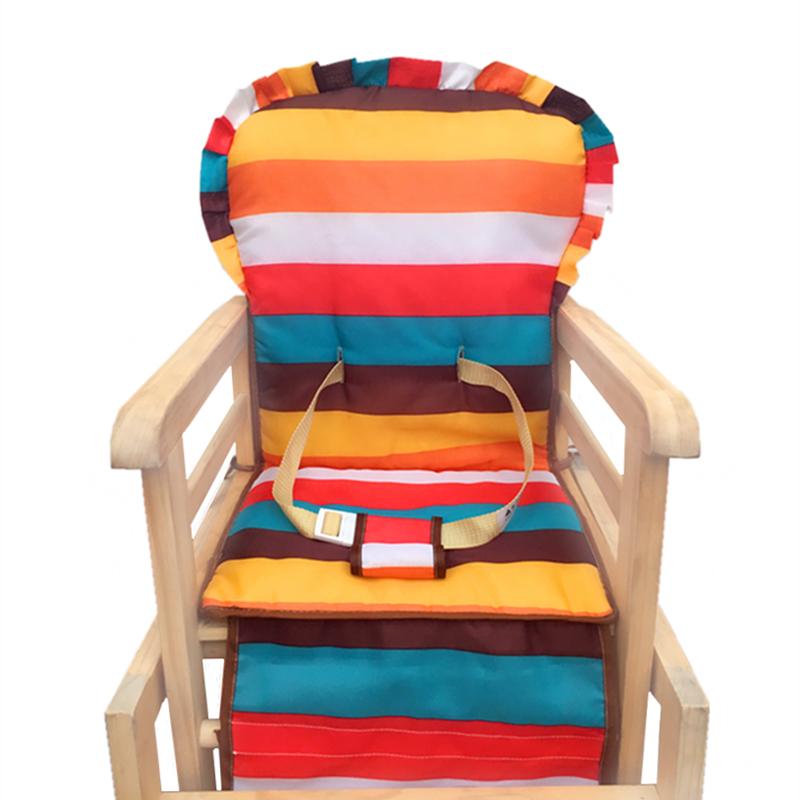 博比龙笑巴喜儿童餐椅套坐垫通用宝宝餐椅布套婴儿三角安全带座垫