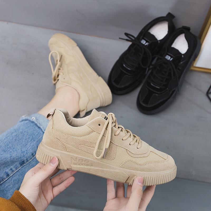 特大码女鞋4143胖脚肥宽平底学生透气运动板鞋加大号4042帆布鞋子