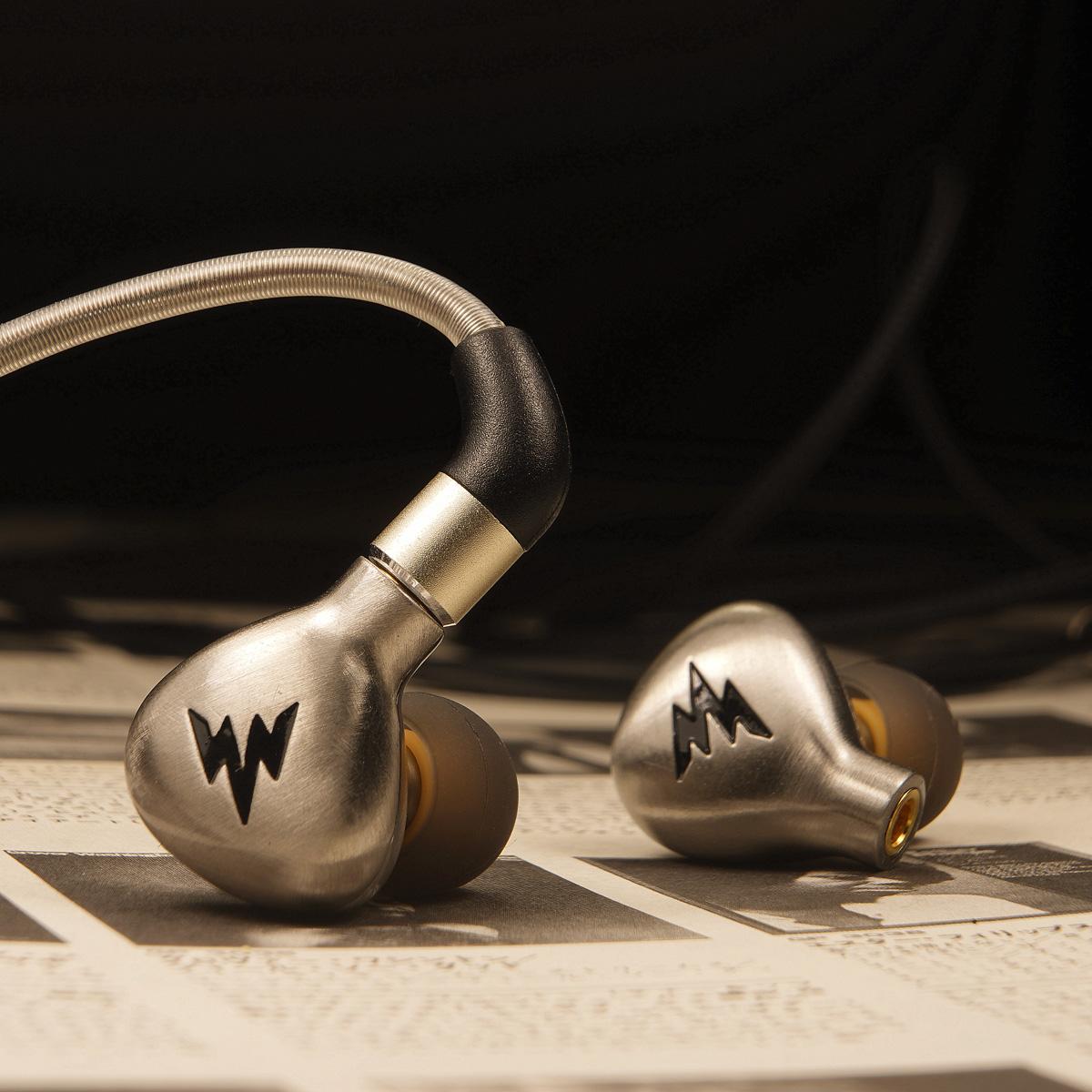 【精钢腔体】Whizzer/威泽A15 hifi耳机入耳式挂耳塞 均衡耐听