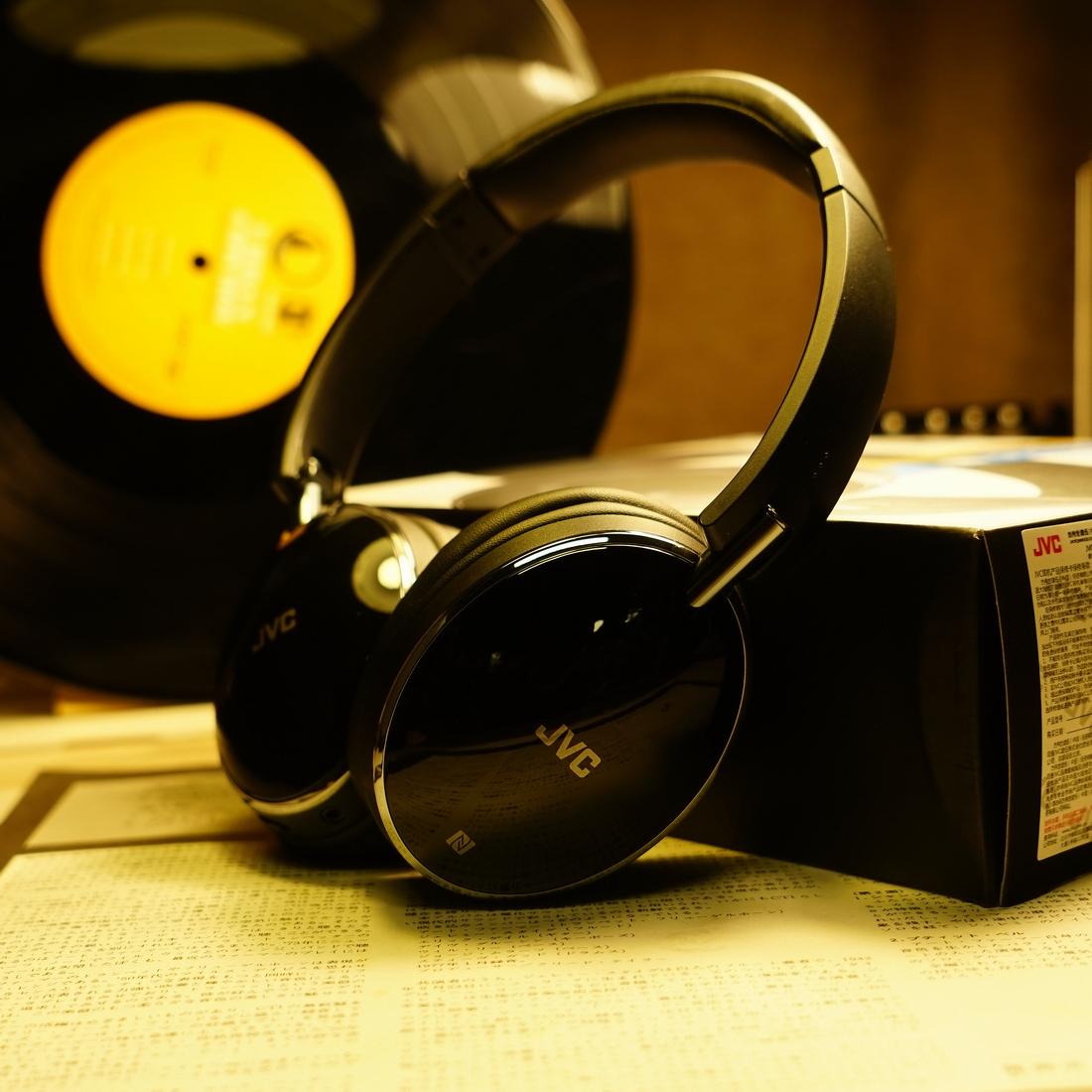 【轻便无线降噪】JVC/杰伟世 HA-S88BN蓝牙耳机头戴式 高续航时间