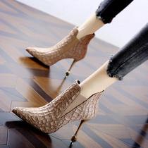 WJK01DD9O他她冬专柜同款绒里马丁靴厚底女短靴Tata清仓特卖