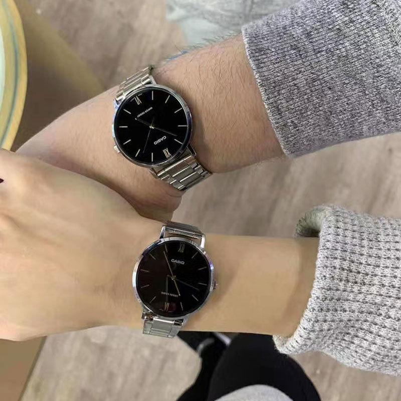 正品新款卡西欧手表女手表男情侣表时尚潮流女表casio防水简约图片