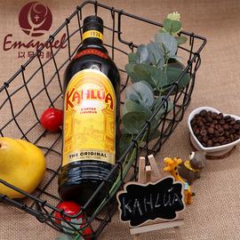 洋酒 原装墨西哥甘露咖啡力娇酒 KAHLUA 甜酒提拉米苏烘培咖啡蜜图片