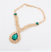 Email prefix retro Palace fine jewelry in Europe and short drop necklace ladies necklace