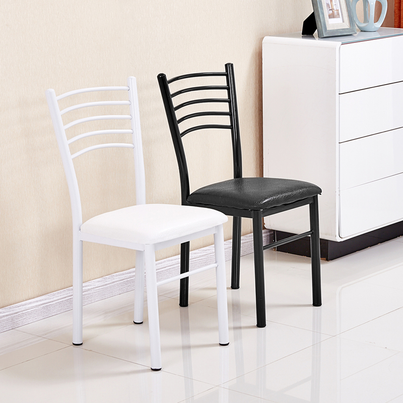 餐椅家用現代簡約靠背椅歐式酒店咖啡美甲椅創意皮椅子成人餐桌椅