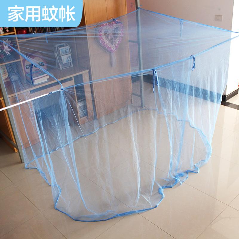 加高加大老式蚊�� 家用�伍_�T�p人�稳舜�1.5m1.8米��2.2米高蚊��
