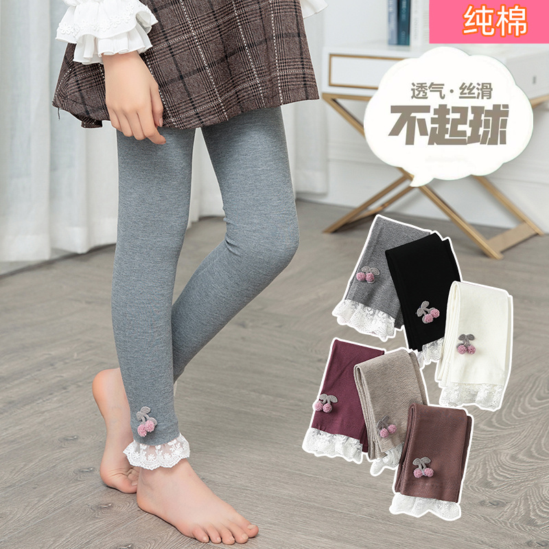 Girls pantyhose spring and autumn non legged thin childrens Leggings