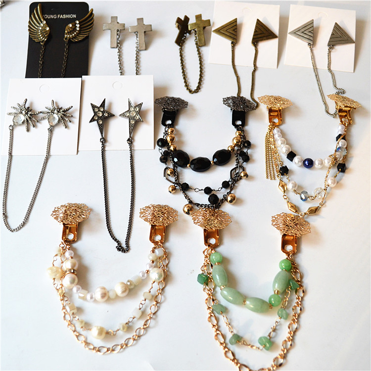 South Koreas best-selling Jewelry: exaggeration, advanced feeling, sweet style and temperament