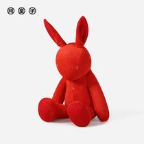 网红许愿兔结婚伴手礼礼盒毛绒玩偶小号公仔生日女生礼物送闺蜜