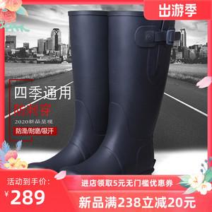 3539新品长筒水靴可调节橡胶男鞋