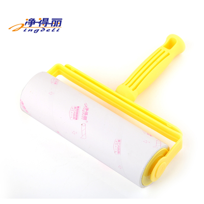 8226 Jingdeli Home Dust Removal Sticky Hair Removal Type With Replacement Bag Roller Brush 16CM