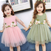 Every day special costumes for girls princess veil 2017 new summer children wear baby vest dress child