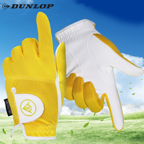 British Dunlop Children Golf Gloves Boys and girls golf Practice Gloves hands