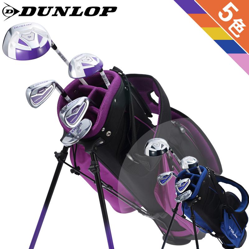 Великобритания DUNLOP официальная качественная продукция ребенок гольф кий комплект поляк мальчиков и девочек, новичок 3 для 12 лет