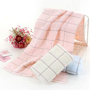 宇康多条装童巾方巾毛巾纯棉洗脸家用柔软面巾成人儿童款毛巾吸水价格