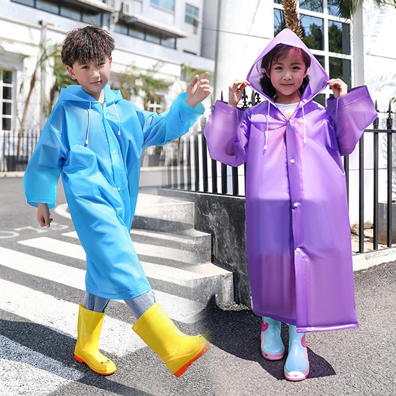 儿童雨衣长款幼儿园小学生雨披全身便携户外加厚男童大童女孩雨衣
