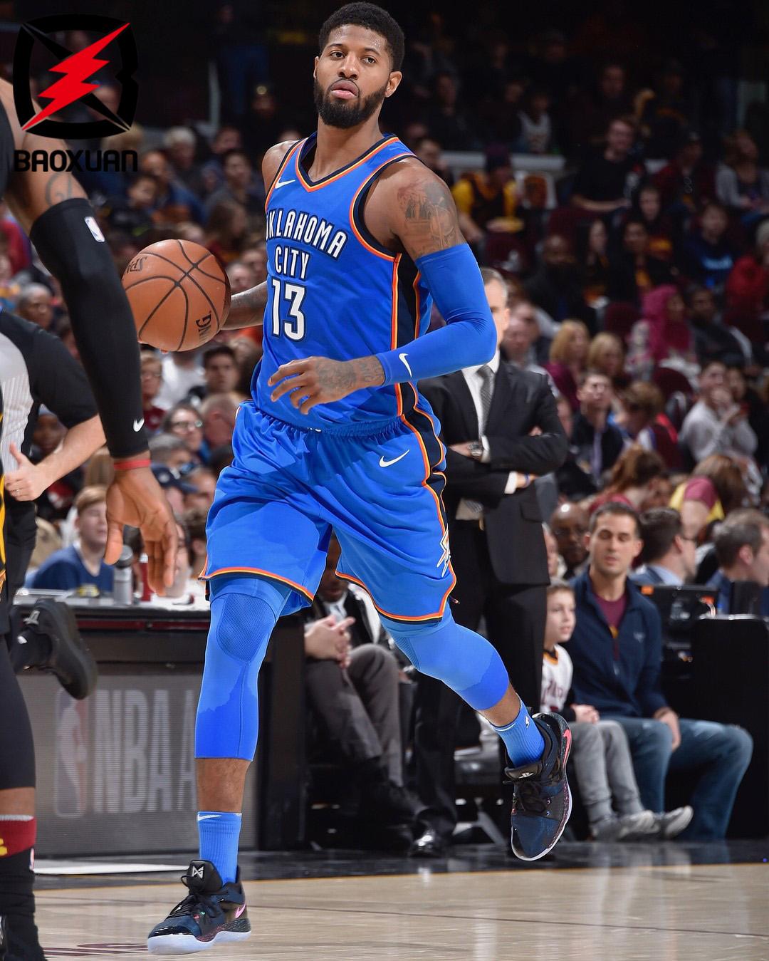 Nike PG 2 亮灯乔治2代泡椒PS 联名款 男子篮球鞋 AT7816-002