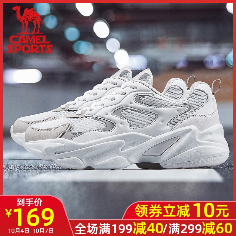 (用10元券)骆驼老爹秋冬季韩版潮流女鞋子男鞋