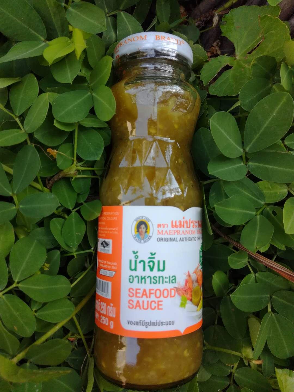 海鲜酱泰国 泰芭侬海鲜沾水美味蘸酱烤鱼烤肉生菜沾水250克新包装