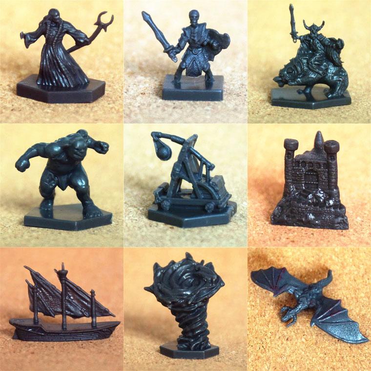 龙与地下城DND 征服耐拉斯 Conquest of Nerath北方战争 桌游模型