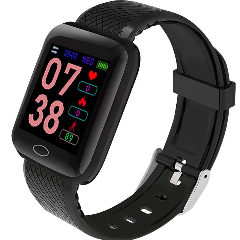 智能手环手表运动健康计步器心率血压防水息提醒手机适用于苹果