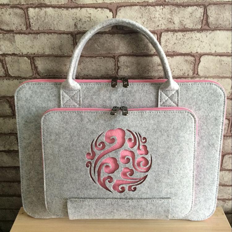 Apple Dell ASUS laptop bag felt liner bag 14 inch 15.6 inch business hand bag