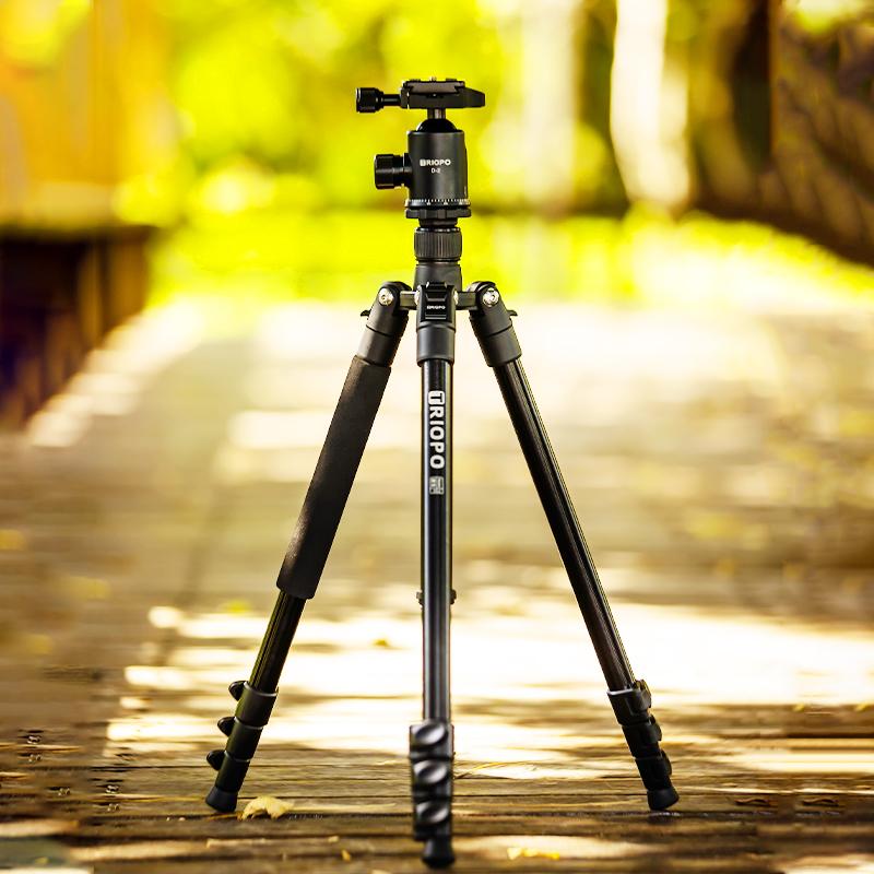 捷宝352扳扣三脚架单反 相机三角架手机直播支架佳能便携微单摄影
