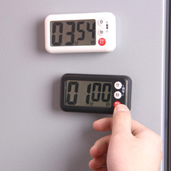 日本磁铁定时器厨房烘焙提醒器学生做题可爱电子闹钟秒表倒计时器