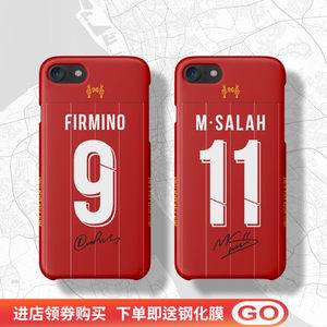 利物浦手机壳适用于iphone11PRO78XSMAXR6s plus萨拉赫马内范迪克