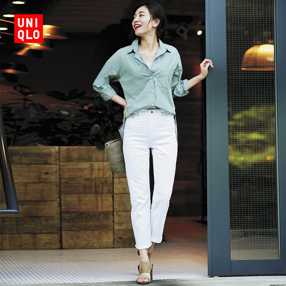 女装 优质长绒棉衬衫(长袖) 410207 优衣库UNIQLO
