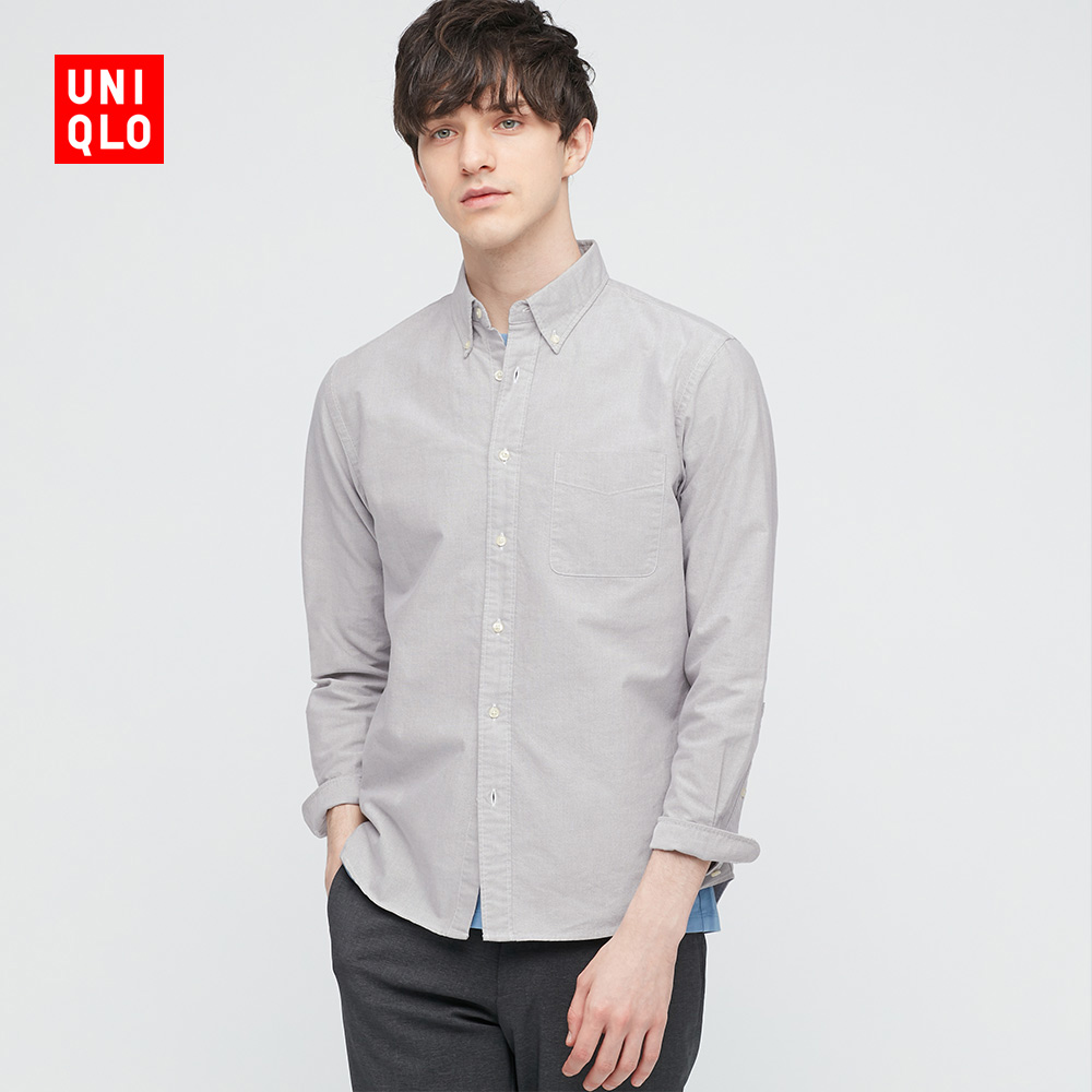 Uniqlo men's oxford shirt (long sleeve) 433472 UNIQLO