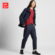 Men's casual narrow-cut jeans (washed products) UNIQLO 418939 Uniqlo