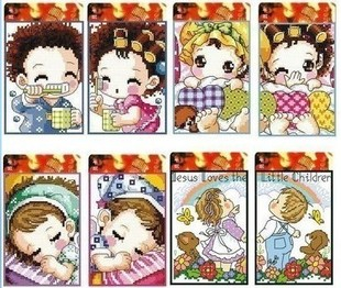 wholesale New Tang Tang Cross stitch kit card card card sets bags post card bank card sets Couples