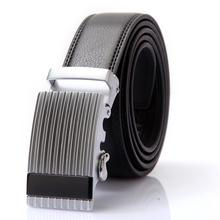 洲驰0116重金属质感男士皮带自动扣腰带