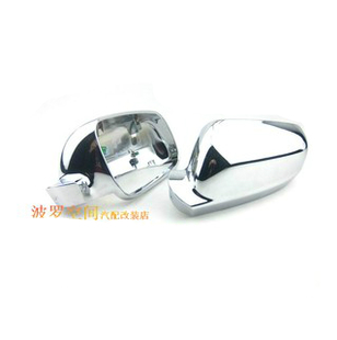 Modified Bora Golf 4 Passat R chrome plating mirror housing side mirror housing light