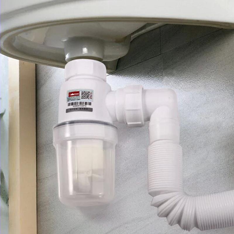 坦克洗手盆防臭下水管洗脸盆面盆下水器手池下水道排水管软管配件