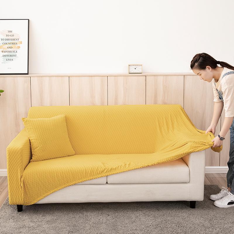 卍能弹力全包通用沙发套罩沙发垫沙发套双人三人组合沙发皮沙发68.00元包邮