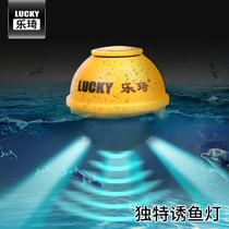 Le Qi Original Fish Detector accessories rechargeable full waterproof sonar probe with lure fish lamp