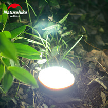 NH Move customer exterior lighting Flashlight Multifunctional camping lamp Camp lamp USB Tent lamp Camping lamp led Rechargeable