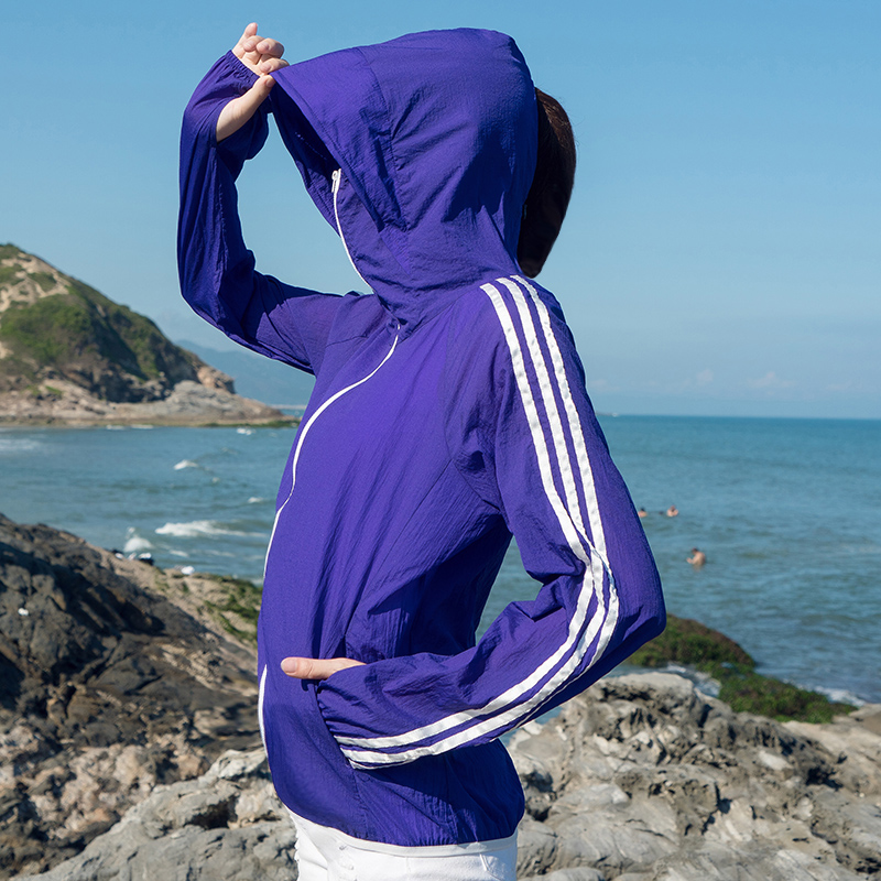 防晒衣女2018新款夏季防紫外线超薄短款长袖韩版时尚宽松外套衫服