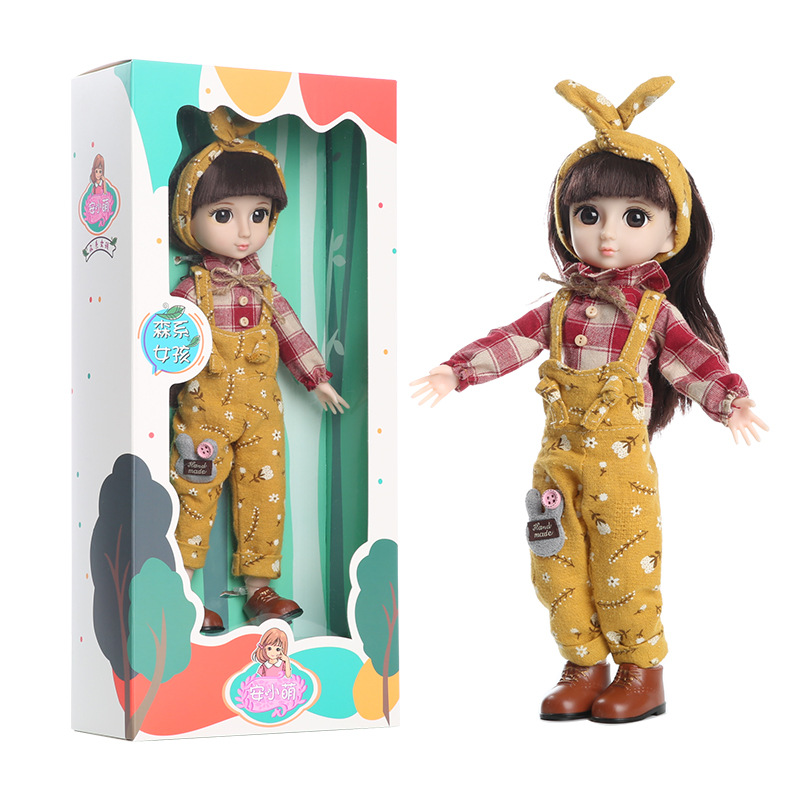 An Xiaomeng Barbie doll large oversized simulation exquisite single suit girl princess toy hair dressing